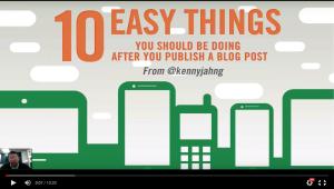 Blog Marketing Checklist