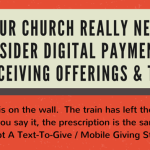 Your Church Needs To Consider Digital Payments - infographic inside
