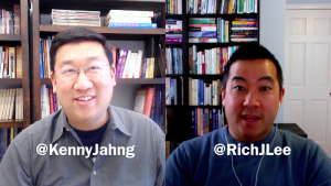 Kenny Jahng and Richard J Lee Talk About Generosity