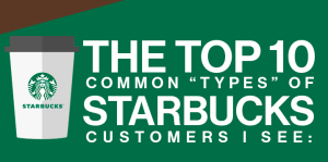 Starbucks List Infographic