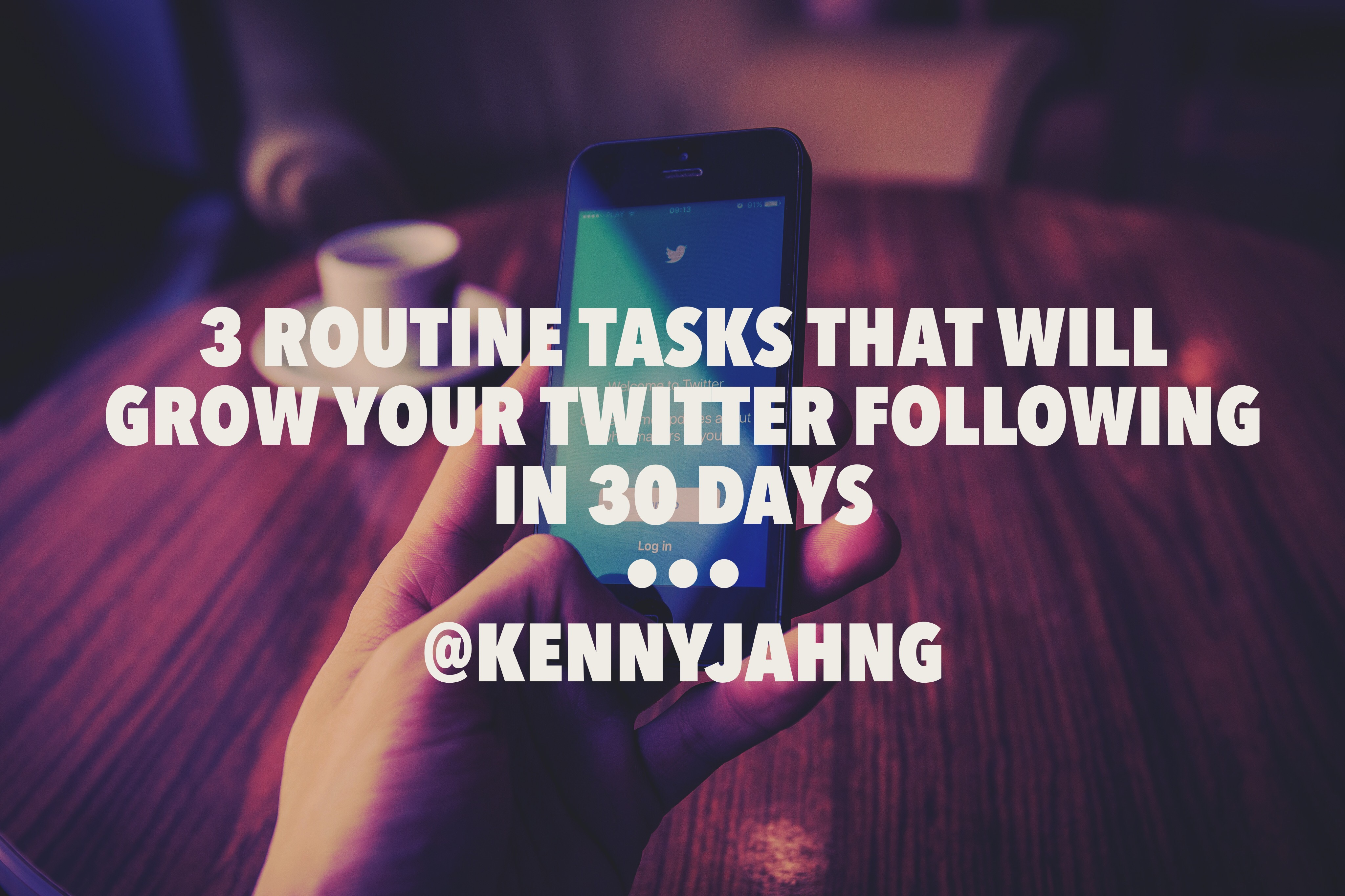 3 Things To Do on Twitter To Grow Your Follower Count