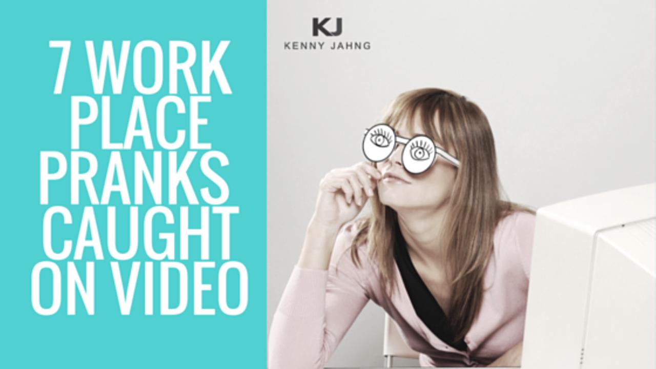 7 Workplace Pranks Caught On Video