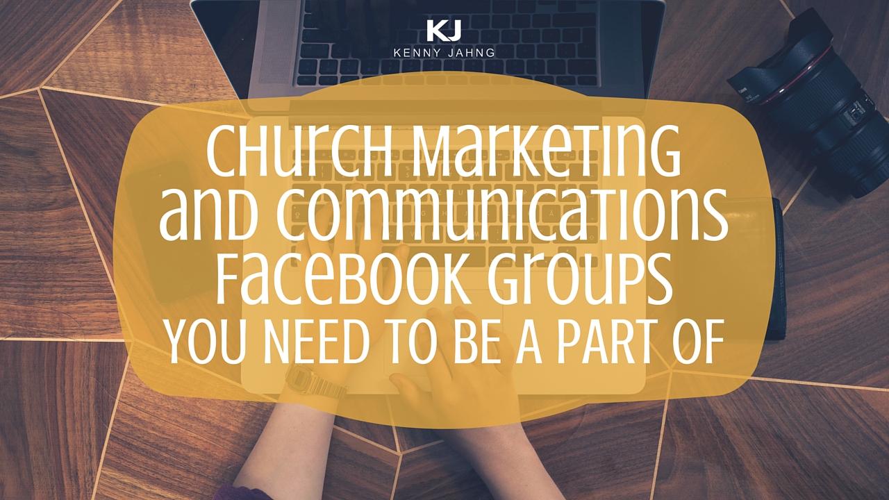 Church Marketing Communications Facebook Groups