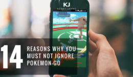 REASONS NOT TO IGNORE POKEMON GO