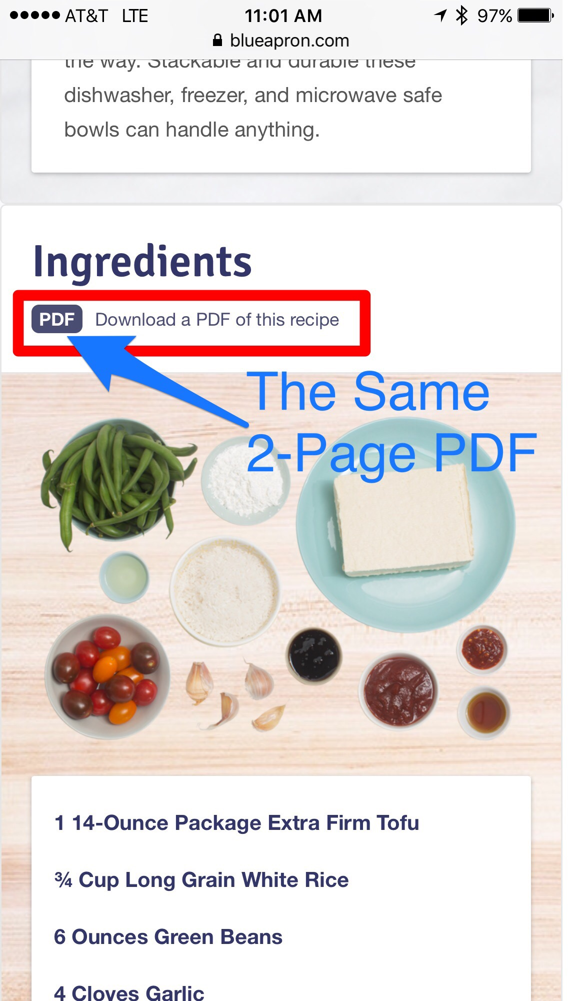 blue apron recipe sheet download