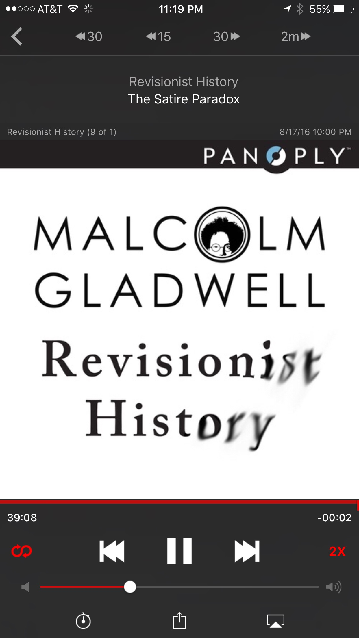 malcolm gladwell podcast