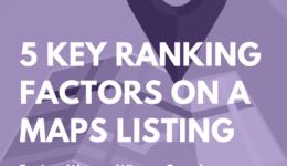 Google Maps SEO Key Ranking Factors