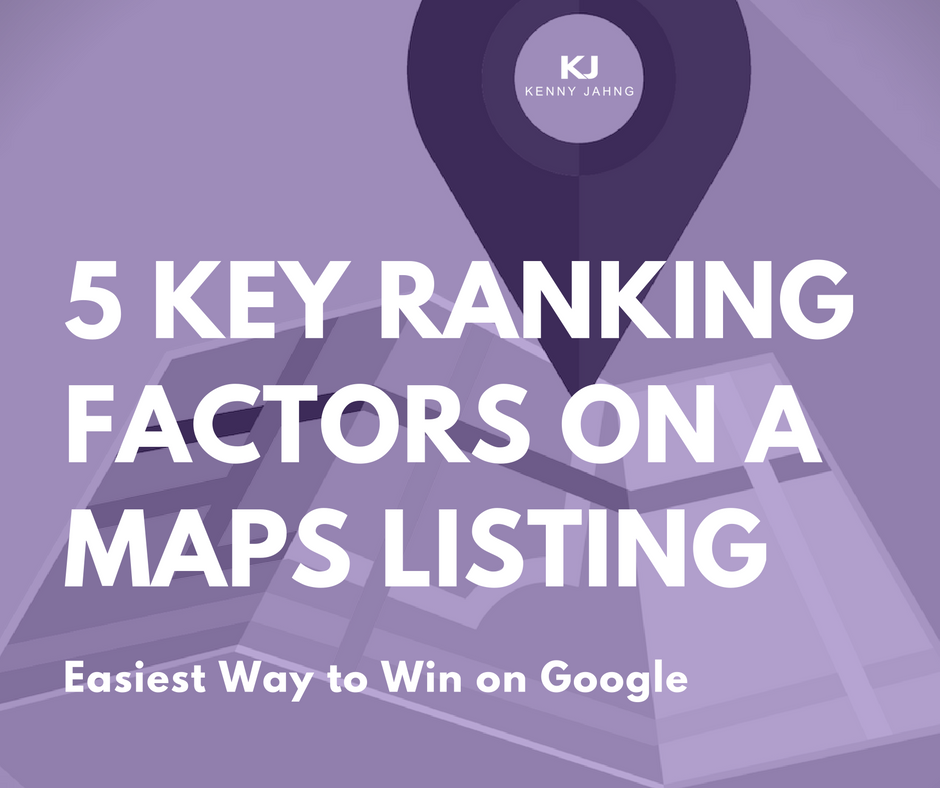 Google Maps SEO Key Ranking Factors