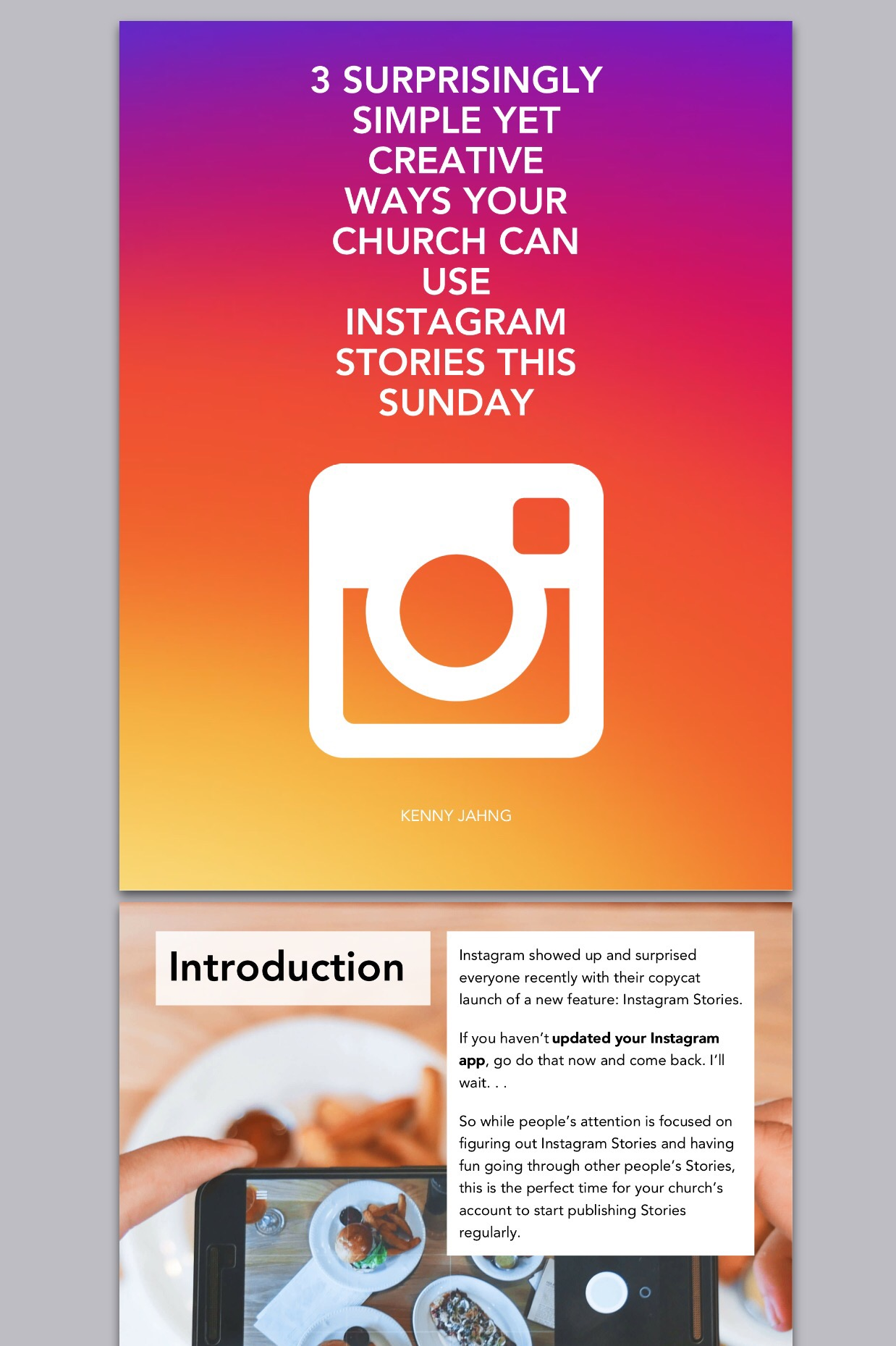 Instagram Now Available For Android: 3 Surprisingly Simple Yet Creative Ways Your Church Can