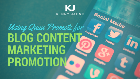 Quuu Promote Social Media Content Recommendation Engine