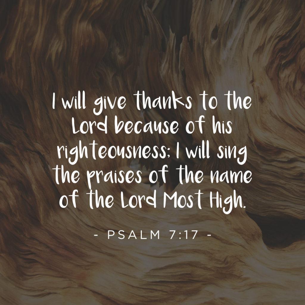 thanksgiving social media psalm