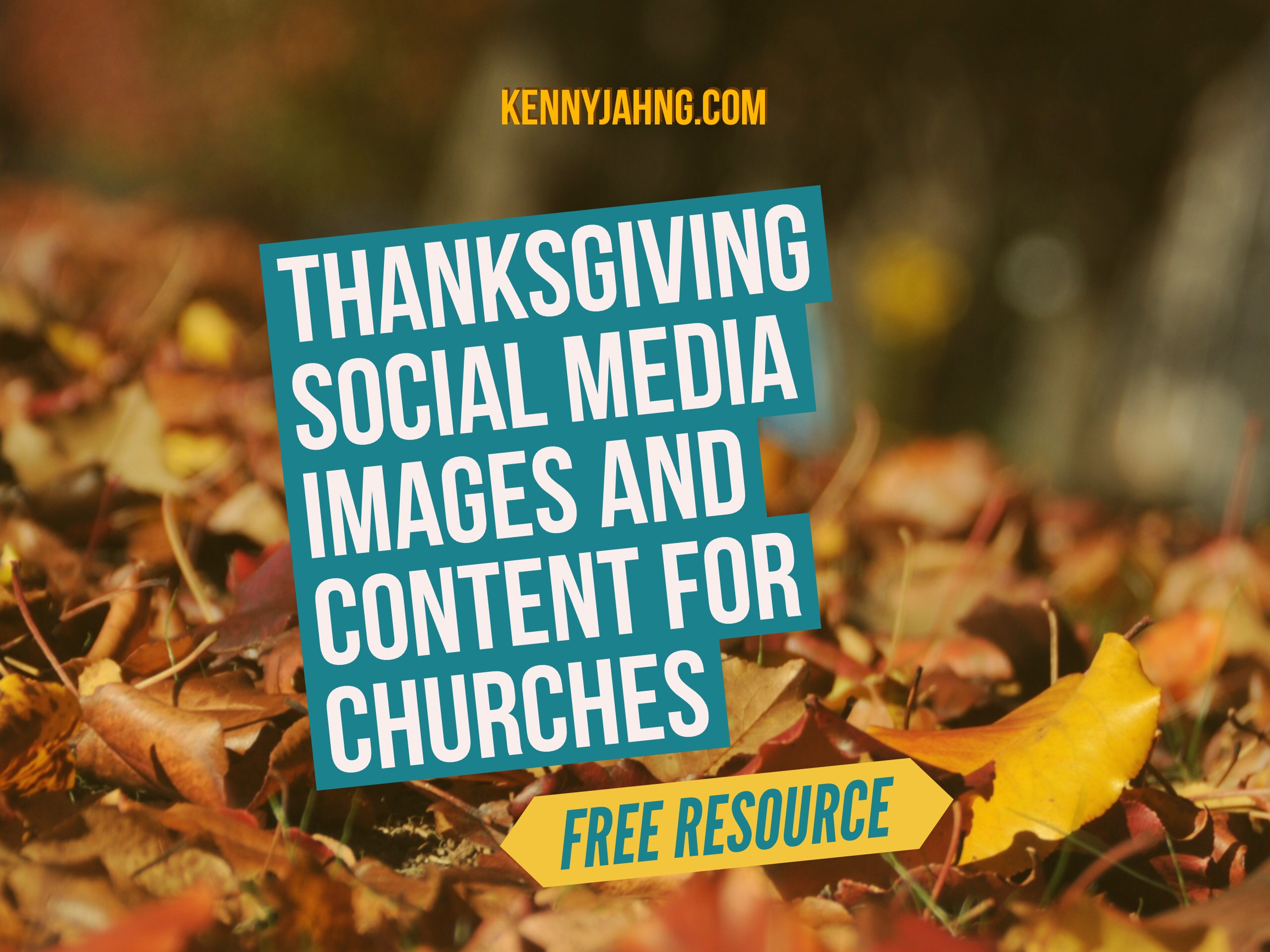 Social media images for thanksgiving