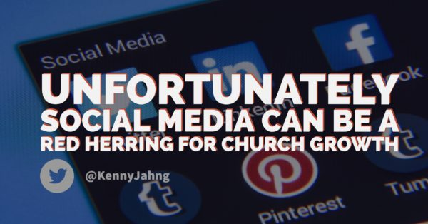 Social media and church growth involve people