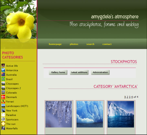 amygdela's atmosphere
