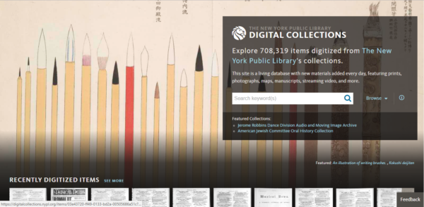 New York Public Library Digital Gallery