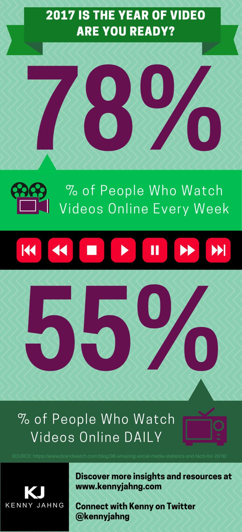 Video Usage Statistics 2017