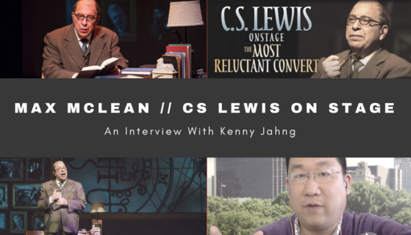 max clean c.s. lewis on stage