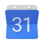 Google Calendar + Fantastical iOS app
