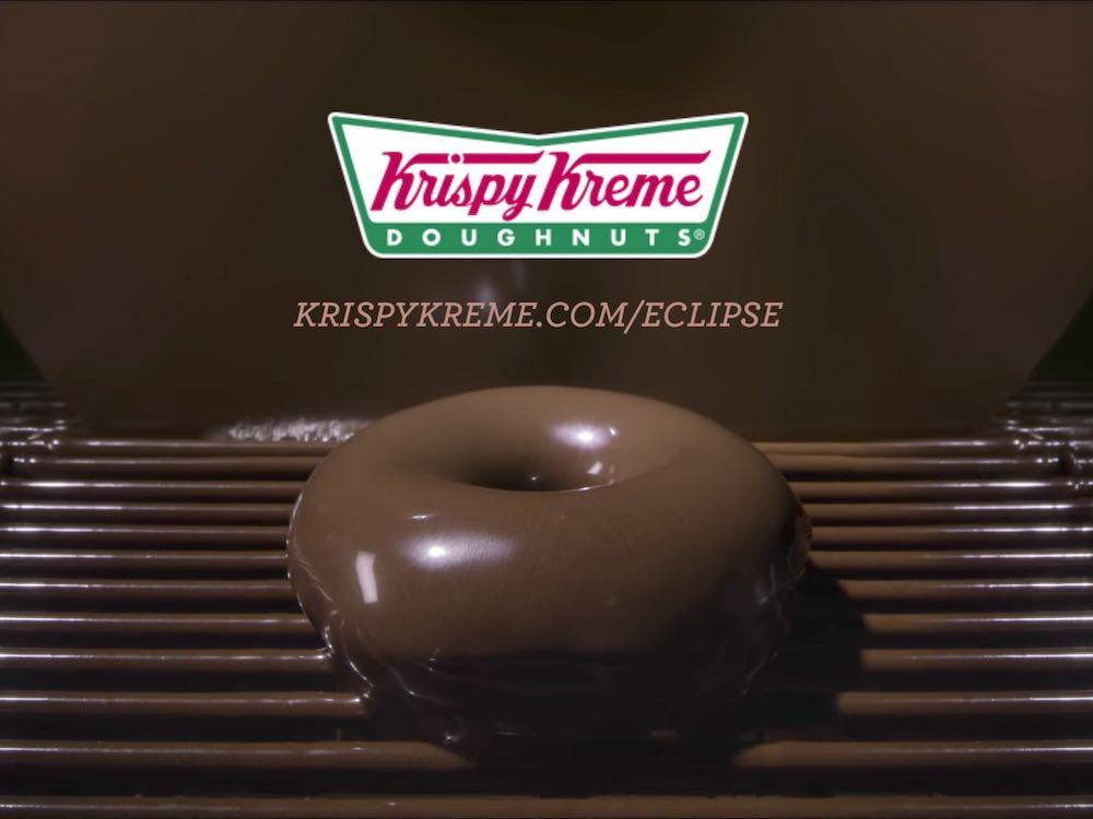 Krispy Kreme example of event newsjacking PR