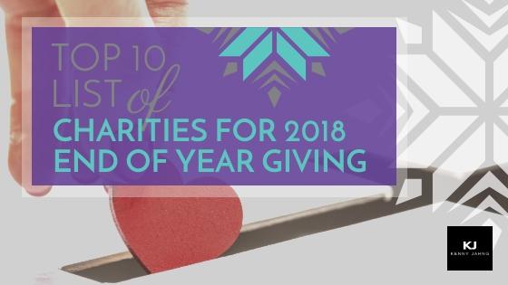 top 10 list of charities