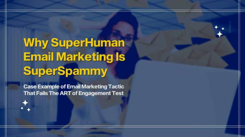 this blog shares a real-life example of email automation sequence that doesn't work